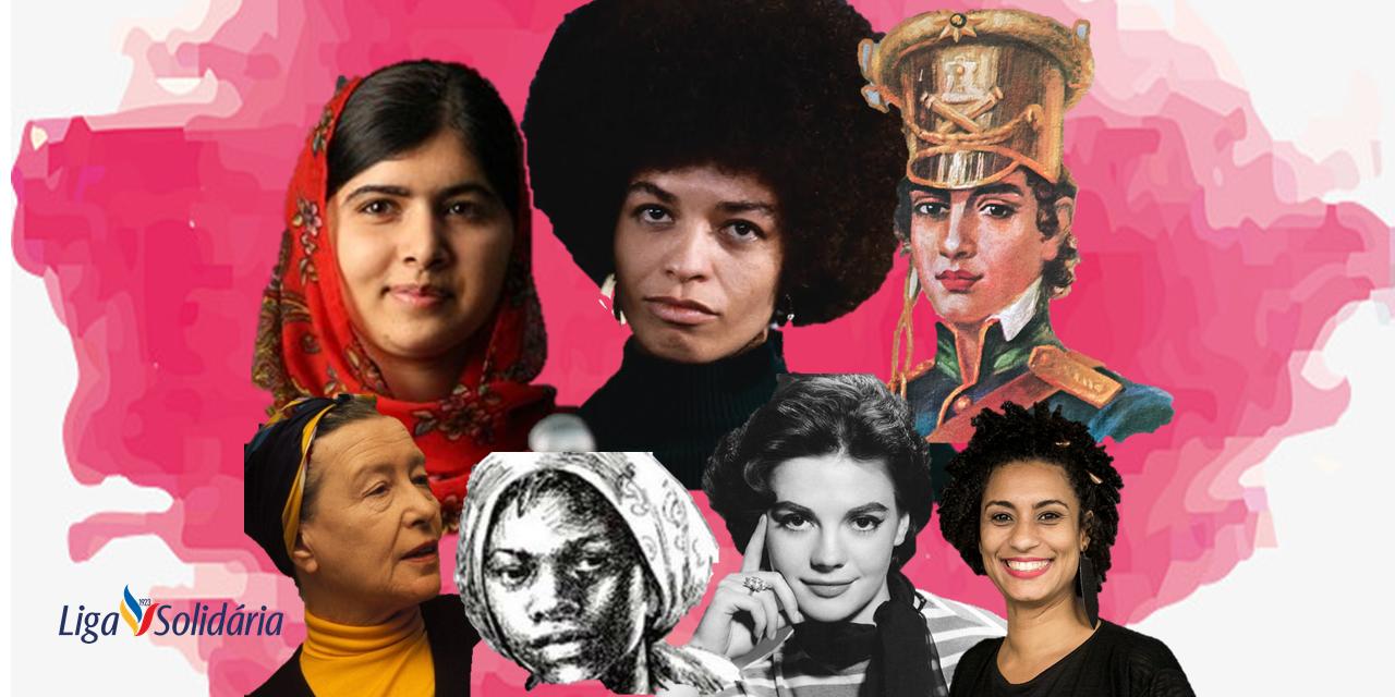 Resultado de imagem para mulheres da história